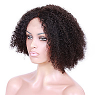8A unprocessed remy human hair 8-26inches natural kinky curly full or lace front wigs for African American Women