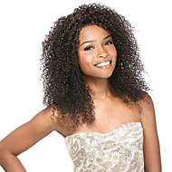 cabello humano 10-26inch 100% pelucas de cabello humano pelucas rizadas sexuales para las mujeres negras