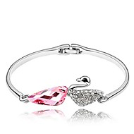 Thousands of colors Women's Cuff Bracelet Alloy Crystal-3-058