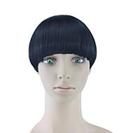 perwersyjne kręcone czarne włosy ludzkie tka chignons 4010