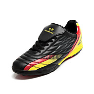 Men's Spring / Summer / Fall / Winter Comfort Faux Leather Lace-up Black / Yellow / Red Soccer