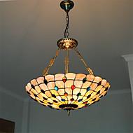 21 inch Retro Tiffany Pendant Lights Shell Shade Living Room Dining Room light Fixture