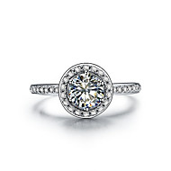 1CT Halo Style Semi Mount SONA Diamond Ring Engagement 925 Silver Brand Quality Ring Women Promise Ring Pt950 Stamped