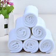 """pack 12pc solide blanc polyester serviette 11,8 """"11,8"""""""