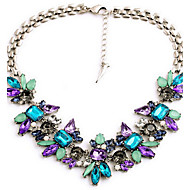Women's Pendant Necklaces Acrylic Alloy Fashion Blue Jewelry Wedding Party Daily Casual 1pc