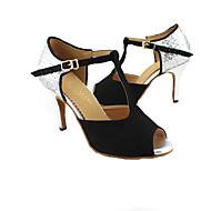 moda kadın köpüklü parıltı üst dans ayakkabıları (daha fazla renk) özel