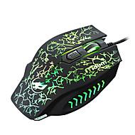 Rat Vuk 4d žičani gaming miš 2400dpi pozadinskim osvjetljenjem disanje svjetla za lol / CF / dota