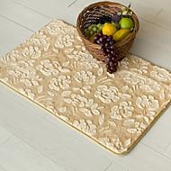 "Casual Style Coral Velvet Material Non-Slip Mat W16"" x L24"""