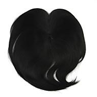 peruka czarna wymiana drutu 10cm wysokotemperaturowy grzywka kolor 2