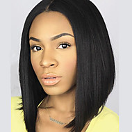 "HOT!! Brazilian Virgin Hair Full Lace Wigs Human Hair Wigs for Black Women 8""-30""Bob Straight Lace Front Wig"