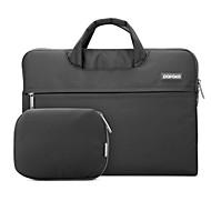 pofoko® sac de portable pochette pour ordinateur portable 11,6 / 13,3 / 15,4 pouces noir / gris