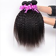 Ljudske kose plete Brazilska kosa Egyenes 18 mjeseci 3 komada kosa isprepliće