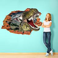 Zvířata Samolepky na zeď 3D samolepky na zeď Ozdobné samolepky na zeď,Papír Materiál Snímatelné Home dekorace Lepicí obraz na stěnu