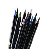 Lápis de Olho Lápis Mineral Longa Duração / Natural Preta / Cinza / Marrom / Azul / Verde / Dourado / Prateada / Café Olhos 1 1 Others