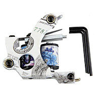 Tattoo Machine Pistolet Tatouer Tatouage Tattoo 10 bobines + 3 Tournevis