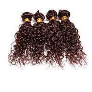 Tissages de cheveux humains Cheveux Brésiliens Ondulation 4 Pièces tissages de cheveux