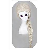 Królowa Śniegu Księżniczka Cosplay peruki elsa jasny blond peruki dziewczyn