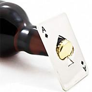 Novi moderan vruće prodaja 1pc poker igranje kartice asa, pik traka alata soda boca piva kapa otvarajućeg poklon