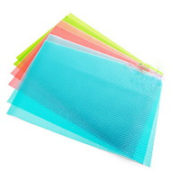 Can Be Cut  Anti-bacterial Anti-fouling Refrigerator Mat(4 Piece Random Color)