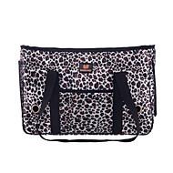 leopárd stílusban kisállat hordozó kutya táska kutyáknak és macskáknak