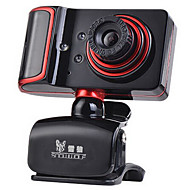 usb 2.0 webcam 1.3m cmos 1280 * 960 45fps rood / zwart
