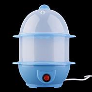 (Random color)1Pc Multi-Function Safe Automatic Power Electric Egg Boiler Cooker Steamer Egg Custard Kitchen Tools