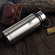 1Pc Large Capacity 1300Ml Sport Thermos Cup Stainless Steel Bottle Random Color