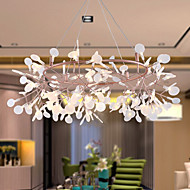 KWB 162 LED Innovation Firefly Pendant Light Modern Northern Europe Modern Creative Snowflake Tree Leaf Pendant Lamps