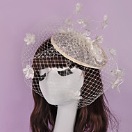 Women's Basketwork / Flax / Net Headpiece-Wedding / Special Occasion / Casual / Outdoor Fascinators 1 Piece