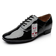 Sapatos de Dança(Preto / Branco) -Masculino-Não Personalizável-Moderna