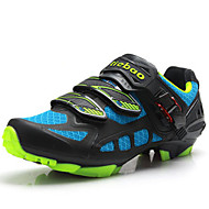 Men's Shoes Customized Materials Athletic Shoes Cycling Lace-up Blue / Green
