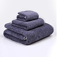 BZHOME®Quilted Cotton Towels Cotton Towel Combination 3Pcs  Super  Soft Cool  Series