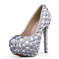 Women's Shoes Stiletto Heel Heels Heels Wedding / Party & Evening / Dress Silver