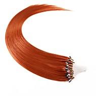 vulgarisation neitsi cheveux clou micro anneau de boucle droite 24inch remy 25g faisceaux de cheveux