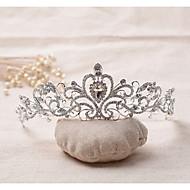 Dame Rhinsten Legering Medaljon-Bryllup Speciel Lejlighed Diademer 1 Stykke