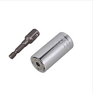 7-19mm strumenti chiave universale set adattatore presa chiave tool kit adattatore trapano elettrico presa reflex cricchetto