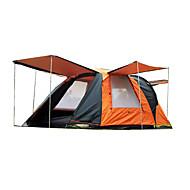 CAMEL 3-4 kişi Çadır Duble Aile Kamp Çadırları İki Oda Boşluk ile birlikte Kamp çadırı 2000-3000 mm Sıcak Tutma Yağmur-Geçirmez Anti-Böcek
