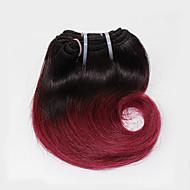 Az emberi haj sző Brazil haj Hullámos 6 hónap 1 darab haj sző