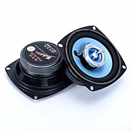 4 Inch Black 2 Way Car Stereo Audio System Coaxial Speakers 240W Pair