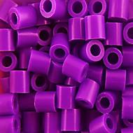aprox 1000pcs / saco de 5mm de cor mista contas de fusível hama diy-cabeça eva safty material para crianças (cor aleatória)