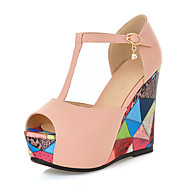 Women's Shoes  Heel Wedges / Heels / Peep Toe / Platform Sandals Party & Evening / Dress / Casual Blue / Pink / White