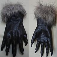 halloween kauhu paholainen käsineet osapuoli prop susi käsineet ihmissusi susi tassut kynnet cosplay käsineet kammottava puku teatteri