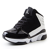 Heren Sneakers Tule Sport Platte hak Veters Blauw Rood Wit