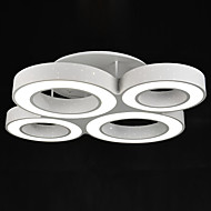 Contemporary Modern Style 4 Models Metal Acrylic Ceiling Lamp for the Foyer / Bedroom / Living Room Ceiling Light