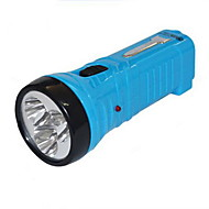 Mini Portable Rechargeable LED Flashlight (Random Colors)