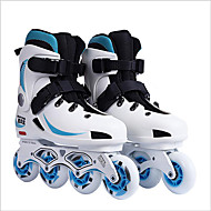 Unisex Athletic Shoes Motorcycle Boots PVC Hook & Loop Black / Blue / Green / White Skate Shoes