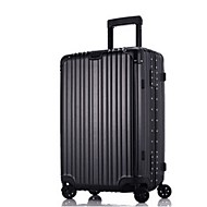 Unisex Plastic Outdoor Suitcase White / Blue / Gold / Red / Black