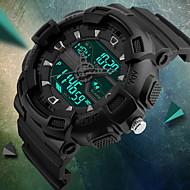 SKMEI® Men's Fashion Sport Analog Digital Three Time Rubber Band Waterproof Watch Fashion Watch Cool Watch