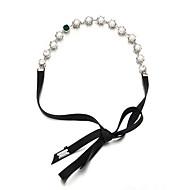 Bandeaux Accessoires pour cheveux Perle Platine Perruques Accessoires Pour femme