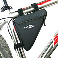 B-Soul® FahrradtascheFahrradrahmentasche Wasserdichter Verschluß tragbar Feuchtigkeitsundurchlässig Stoßfest Tasche für das RadPolyester